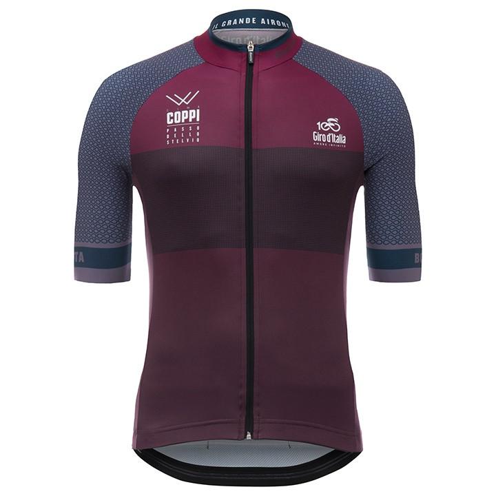 GIRO D´ITALIA Cima Coppi 2017 fietsshirt met korte mouwen, voor heren, Maat M,