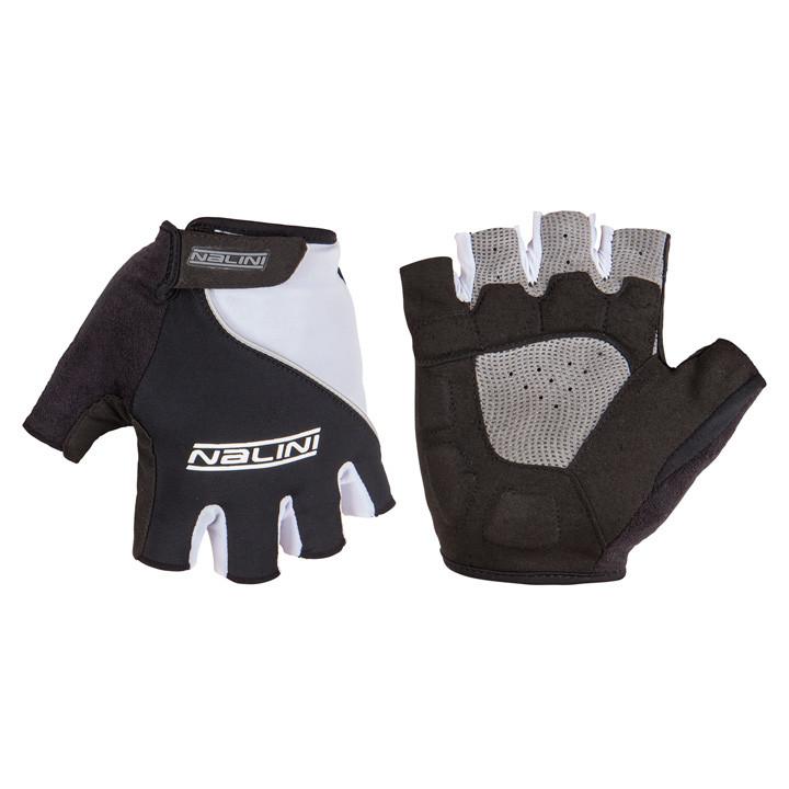 NALINI PRO Nalini zwart-wit handschoenen, voor heren, Maat S, Fietshandschoenen,