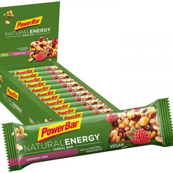 Natural Energy Cereal Riegel Raspberry Crisp 24/K.
