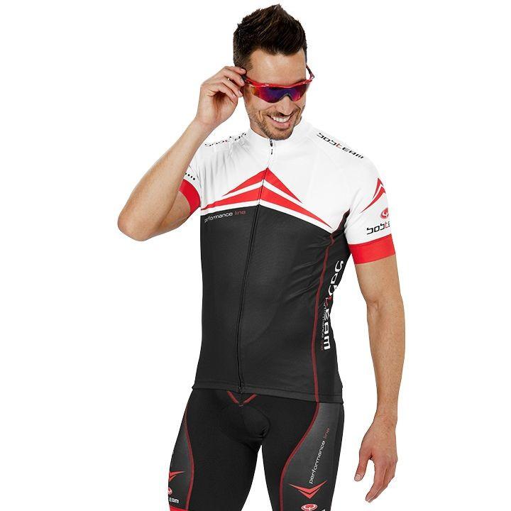 Fietsshirt, BOBTEAM Performance Line fietsshirt met korte mouwen, voor heren, Ma