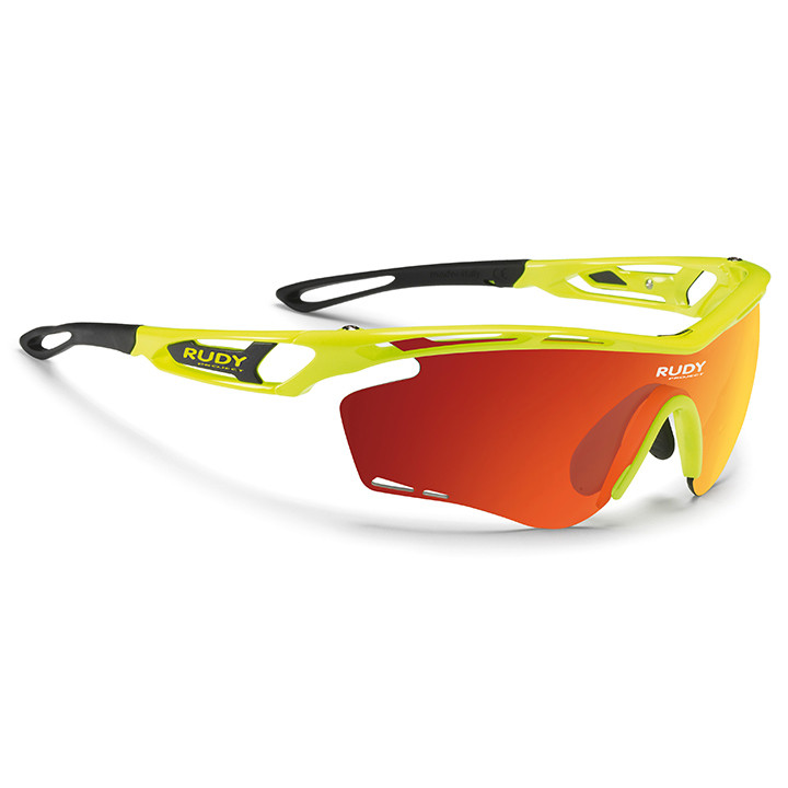RUDY PROJECT fietsbril Tralyx 2019 yellow fluo gloss sportbril, Unisex (dames /