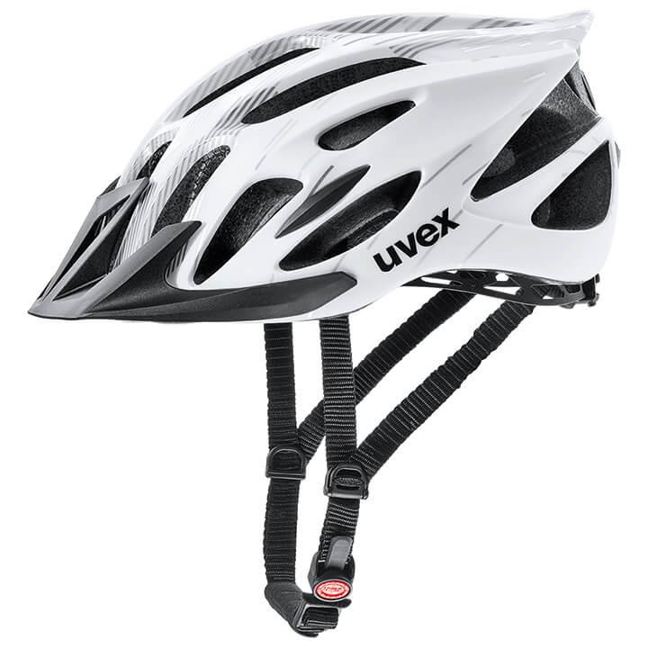 UVEX Fietshelm Flash fietshelm, Unisex (dames / heren), Maat M, Fietshelm, Fiets