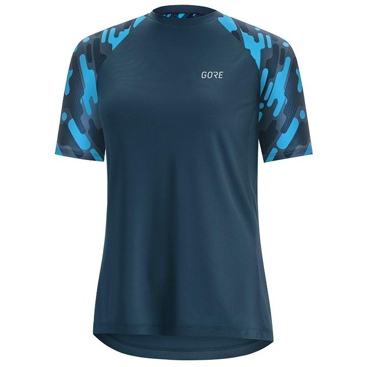 GORE Damesfietsshirt C5 Trail bikeshirt, Maat 40, Wielren shirt, Fiets kleding