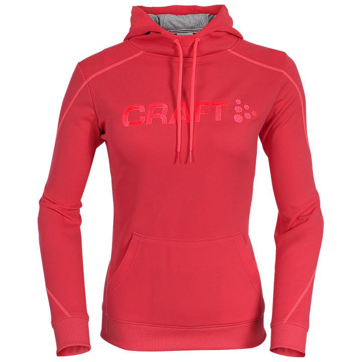 CRAFT Logo dames Hoody dameshoody, Maat XL, MTB shirt, MTB