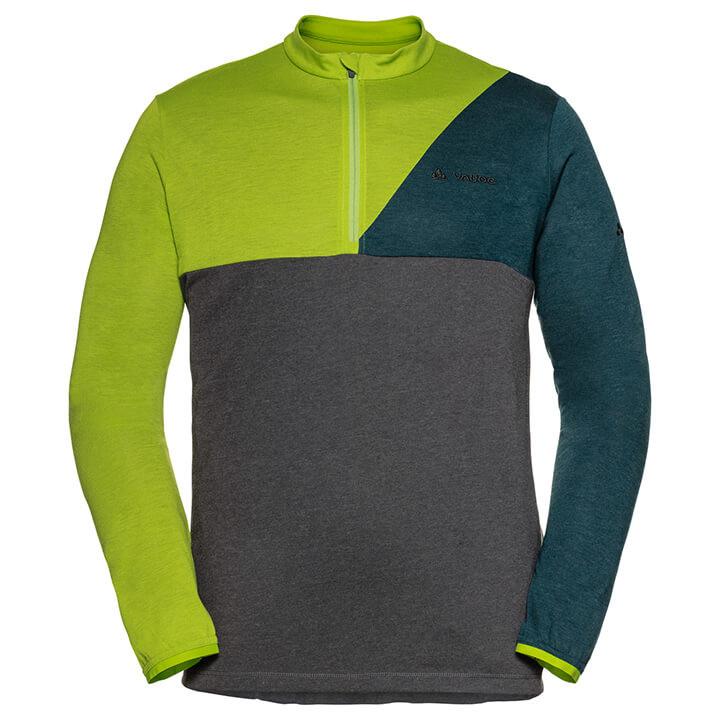 VAUDE met lange mouwen Tremalzo bikeshirt, voor heren, Maat XL, Wielershirt,