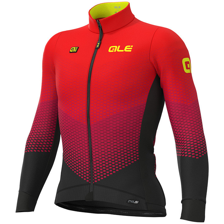 ALÉ Shirt met lange mouwen Delta Micro fietsshirt met lange mouwen, voor heren,