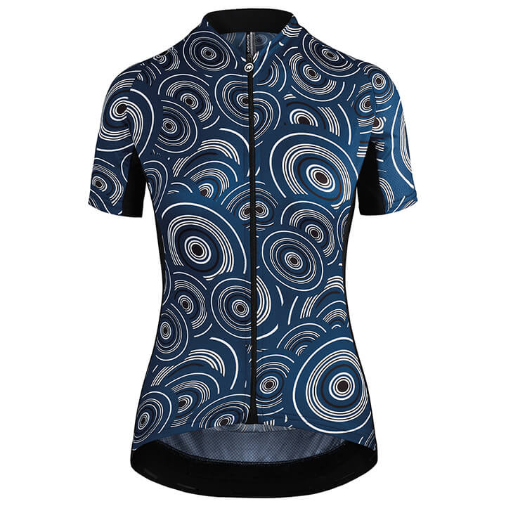 ASSOS Damesshirt Uma GT caleumBlue damesfietsshirt, Maat L, Fietsshirt,
