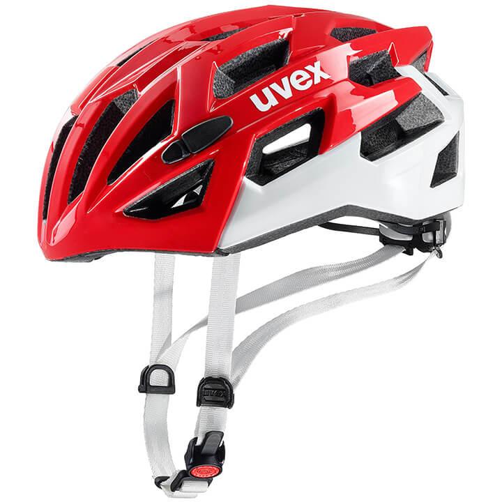 UVEX RaceRace 7 fietshelm, Unisex (dames / heren), Maat L, Fietshelm, Fietsacces