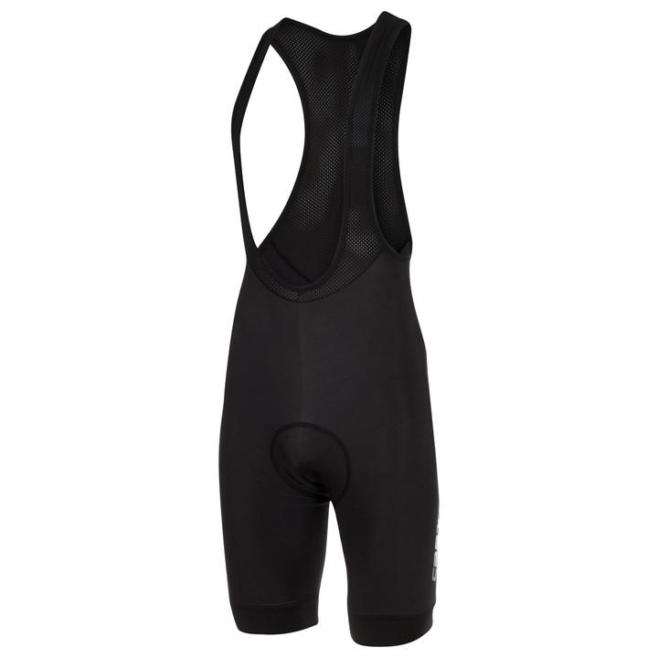 CASTELLI korte broek met bretels Nanoflex 2 zwart korte koersbroek, voor heren,
