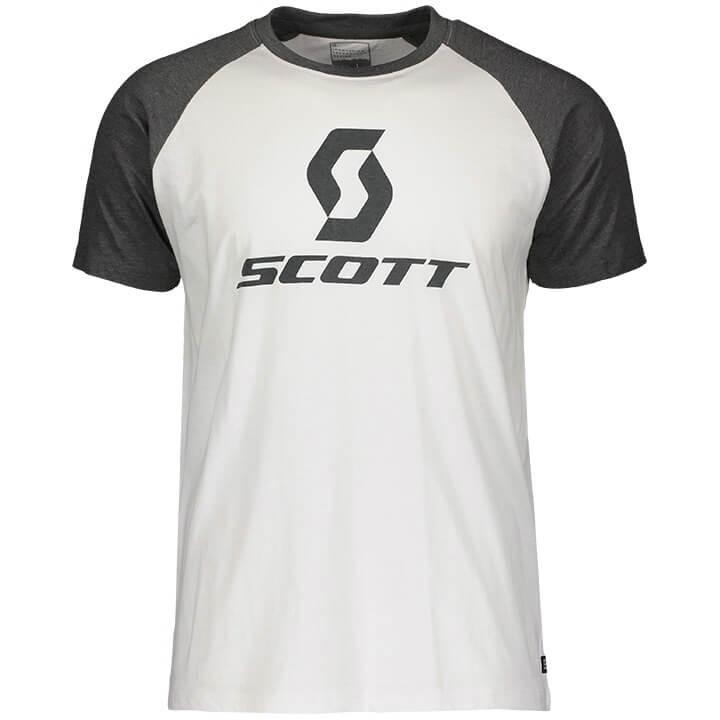 SCOTT T-shirt 10 Icon raglan t-shirt, voor heren, Maat XL, MTB shirt, MTB kledin