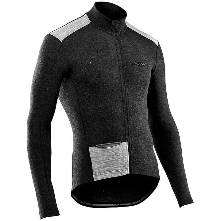NORTHWAVE Shirt met lange mouwen Fahrenheit Wool fietsshirt met lange mouwen, vo