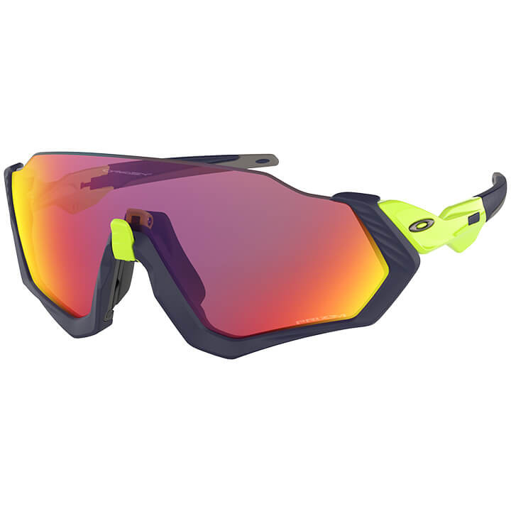 OAKLEY FietsFlight Jacket Prizm sportbril, Unisex (dames / heren), Sportbril, Fi