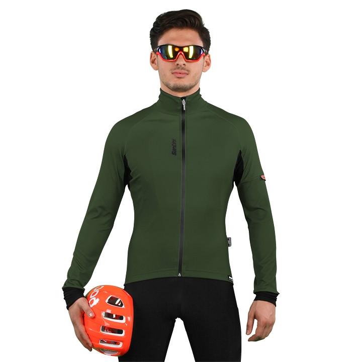 SANTINI Beta Light Jacket, voor heren, Maat L, Fiets jack, Wielerkleding