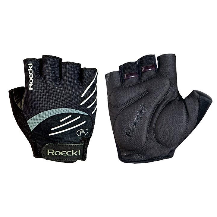 ROECKL Badiola, zwart handschoenen, voor heren, Maat 6,5, Fiets handschoenen, Fi
