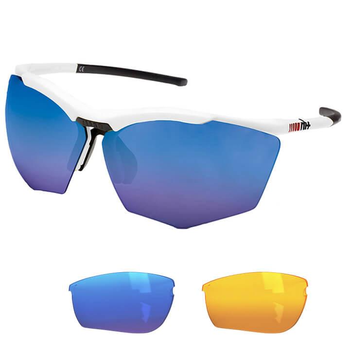 rh+ Brillenset Super Stylus bril, Unisex (dames / heren), Sportbril, Fietsaccess