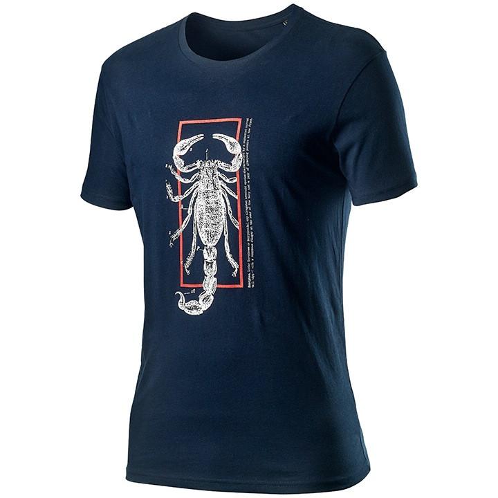 CASTELLI T-shirt Logo t-shirt, voor heren, Maat XL, MTB shirt, MTB kleding