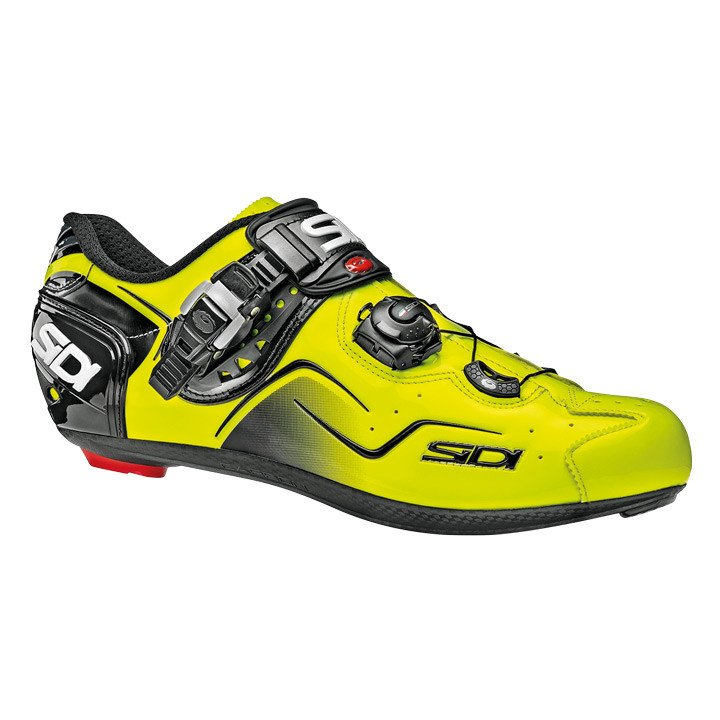 SIDI fietsschoenen Kaos neongeel raceschoenen, voor heren, Maat 47, Racefiets sc