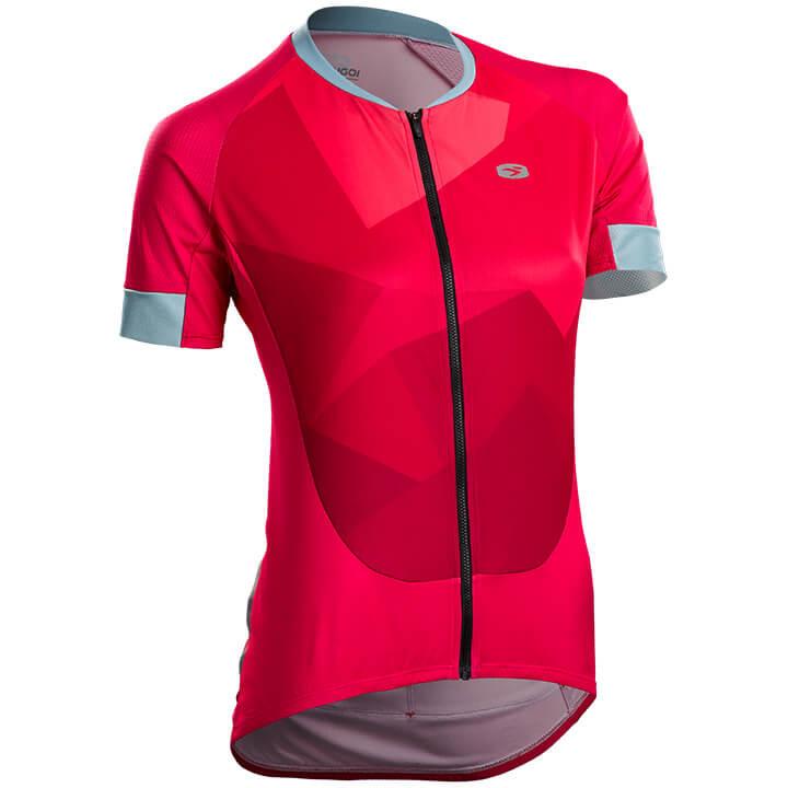 SUGOI Damesshirt met korte mouwen RS Training damesfietsshirt, Maat L,