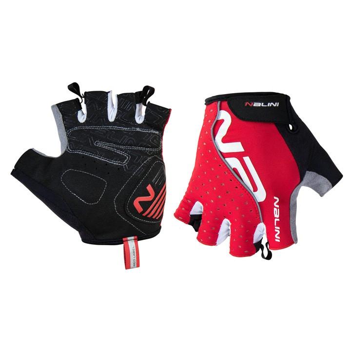 NALINI Handschoenen Red handschoenen, voor heren, Maat M, Fietshandschoenen,