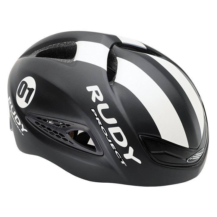 RUDY PROJECT racefiets helm Boost 01 black-white matte fietshelm, Unisex (dames