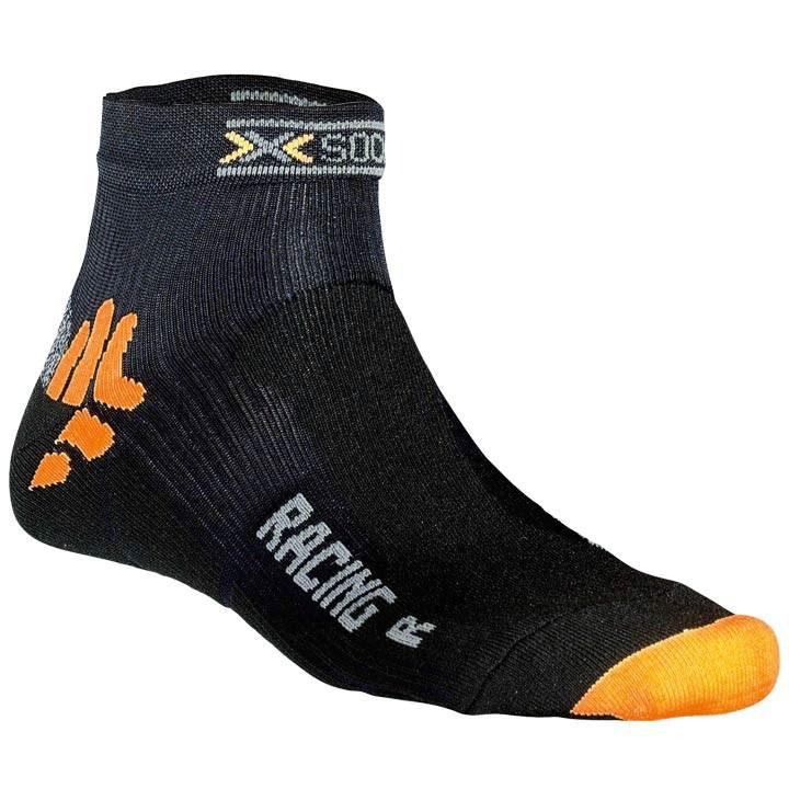 X-SOCKS Bike Racing zwart fietssokken, voor heren, Maat L,