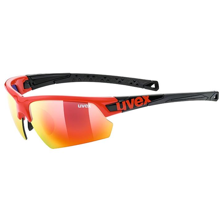 UVEX FietsSportstyle 224 2020 sportbril, Unisex (dames / heren), Sportbril, Fiet