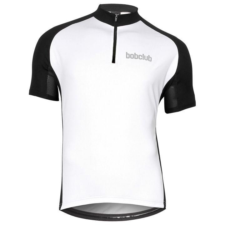 Wielershirt, BOBCLUB shirt met korte mouwen fietsshirt met korte mouwen, voor he