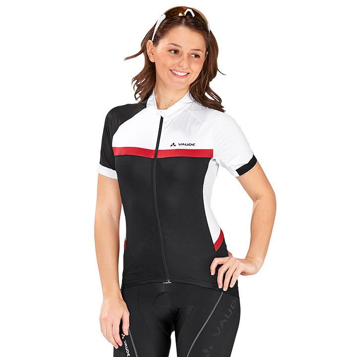 VAUDE damesshirt met korte mouwen Pro II damesfietsshirt, Maat 36, Fiets shirt,