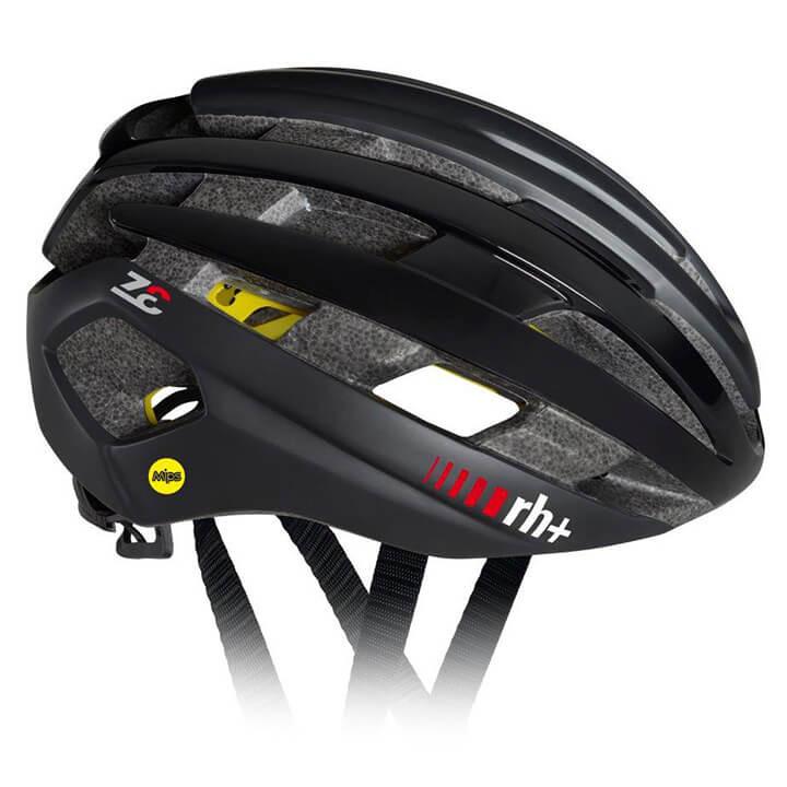 rh+ RaceZ Epsilon Mips 2018 fietshelm, Unisex (dames / heren), Maat M,