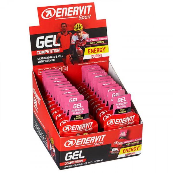 Sport Gel Raspberry with Caffeine 24 Stck./Box
