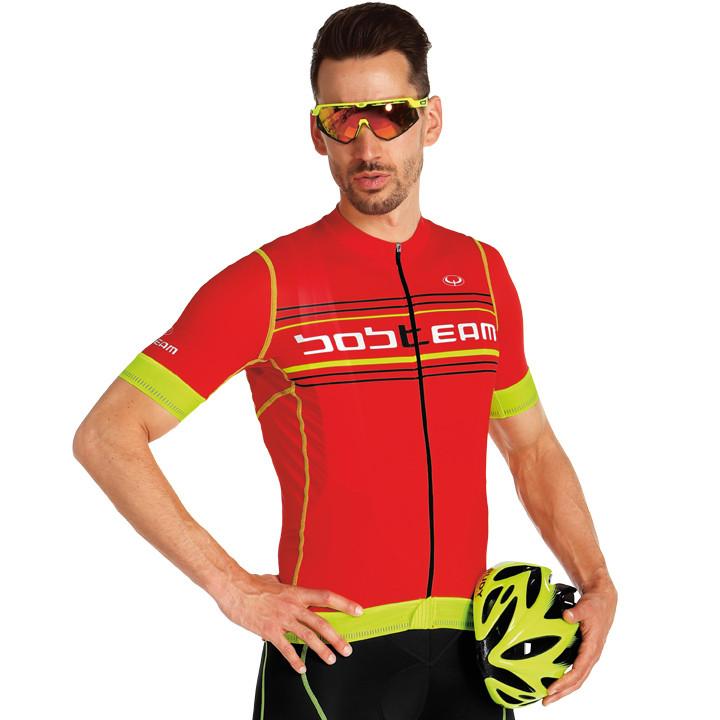 Fietsshirt, BOBTEAM Shirt met korte mouwen Scatto fietsshirt met korte mouwen, v