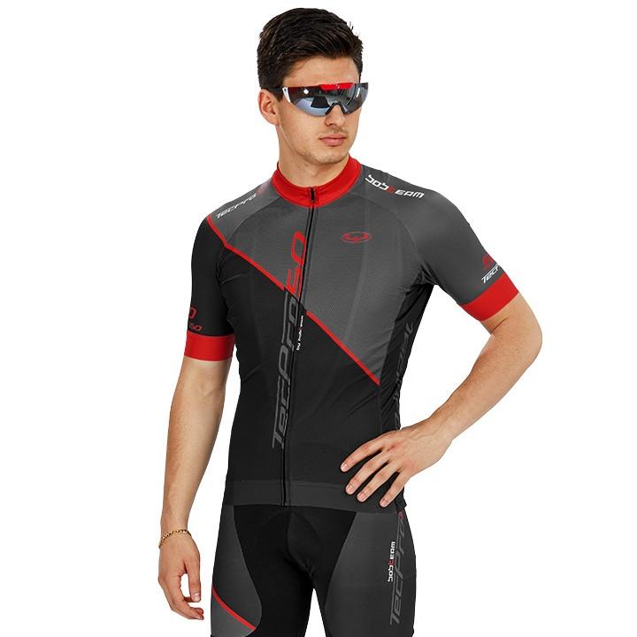Wielershirt, BOBTEAM tecPro50 fietsshirt met korte mouwen fietsshirt met korte m