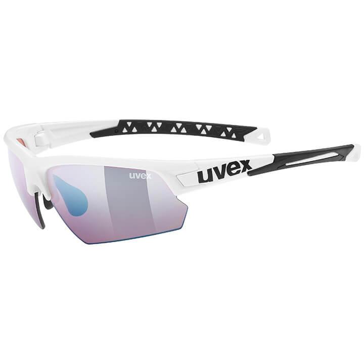 UVEX FietsSportstyle 224 Colorvision 2020 sportbril, Unisex (dames / heren), Spo