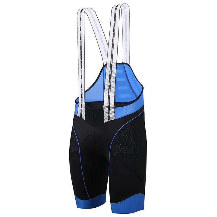 SANTINI BCOOL, zwart-blauw korte koersbroek, voor heren, Maat 3XL, Fietsbroekje,