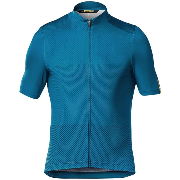 MAVIC Shirt met korte mouwen Cosmic Graphic fietsshirt met korte mouwen, voor he