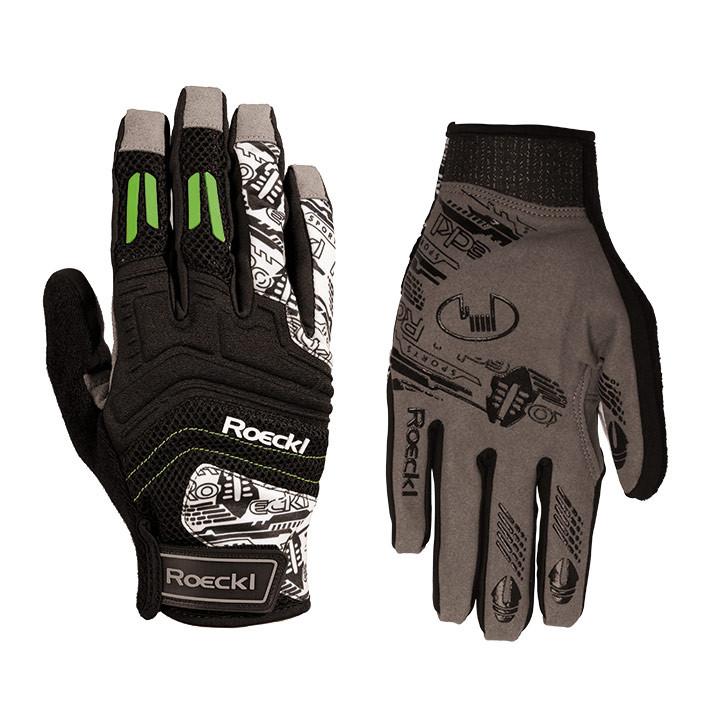 ROECKL langevingerhandschoenen Minden, zwart handschoenen met lange vingers, voo