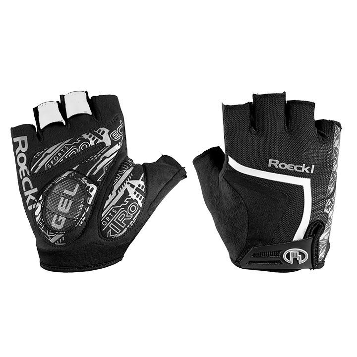 ROECKL Isaga, zwart-wit handschoenen, voor heren, Maat 7, Fietshandschoenen, Wie
