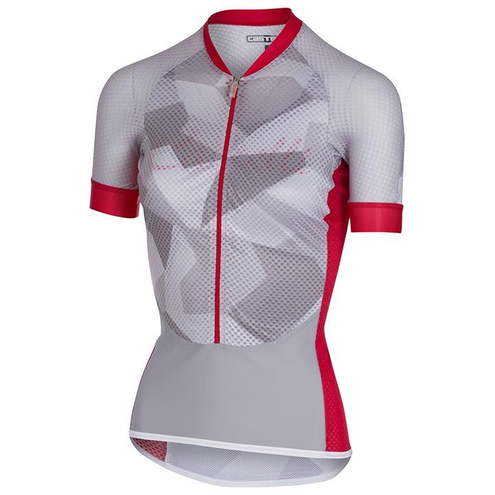 CASTELLI Climber's Women's damesfietsshirt, Maat S, Fietsshirt,