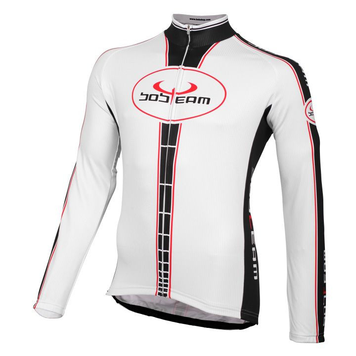 Fiets shirt, BOBTEAM shirt met lange mouwen Infinity fietsshirt met lange mouwen