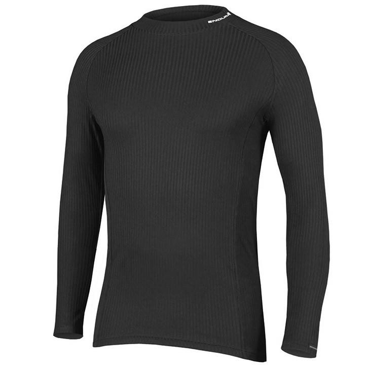 ENDURA Fietsmet lange mouwen Transrib onderhemd, voor heren, Maat 2XL,