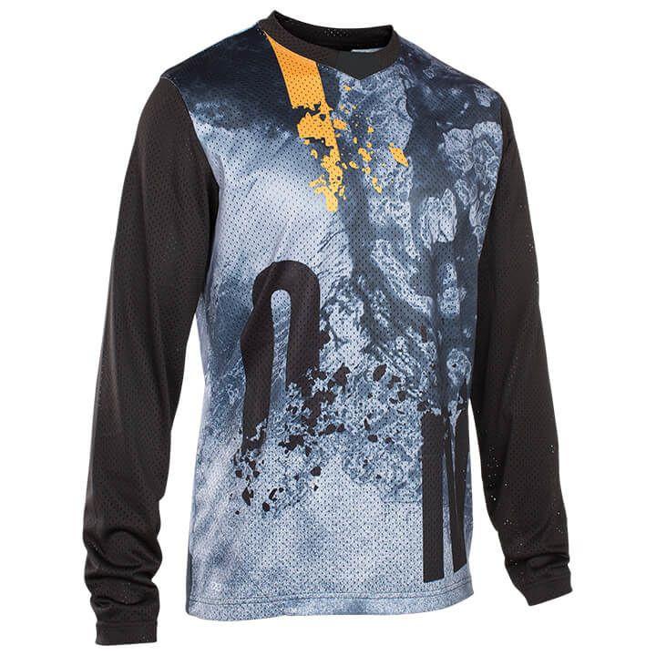 ION Fietsshirt met lange mouwen Scrub bikeshirt, voor heren, Maat XL, Wielershir