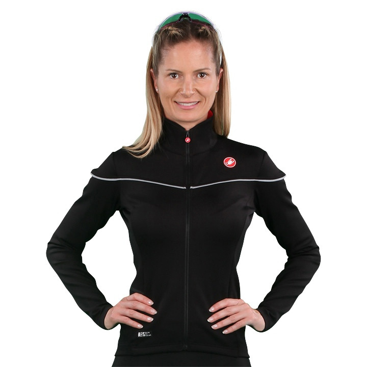 CASTELLI Dames Nelmezzo RoS Light Jacket, Maat L, Fietsjas,