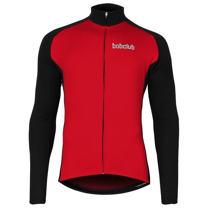 Fiets trui, BOBCLUB shirt met lange mouwen fietsshirt met lange mouwen, voor