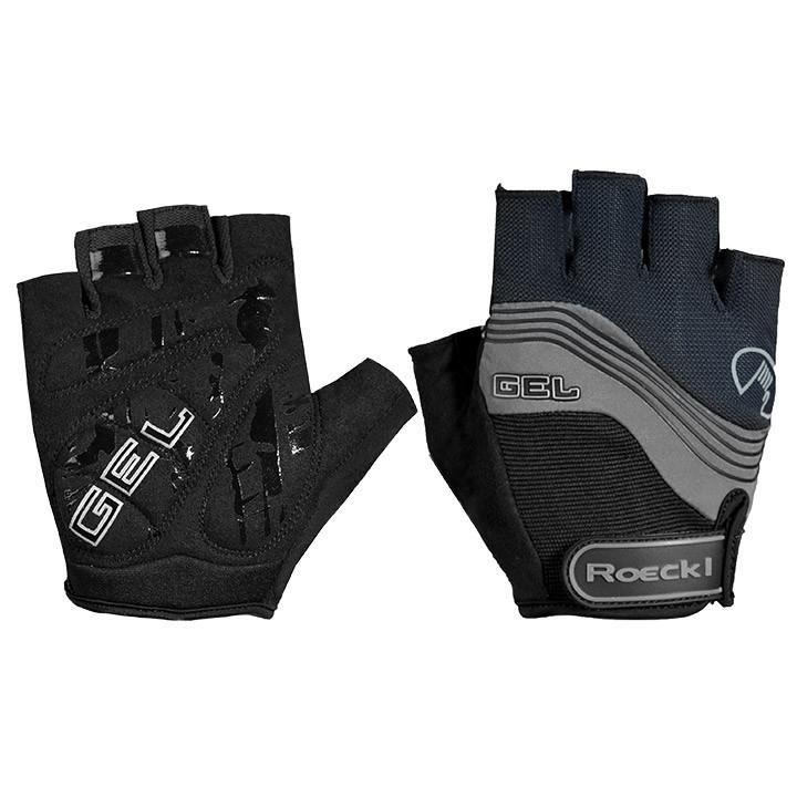 ROECKL Imajo, zwart-grijs handschoenen, voor heren, Maat 7, Fietshandschoenen, W