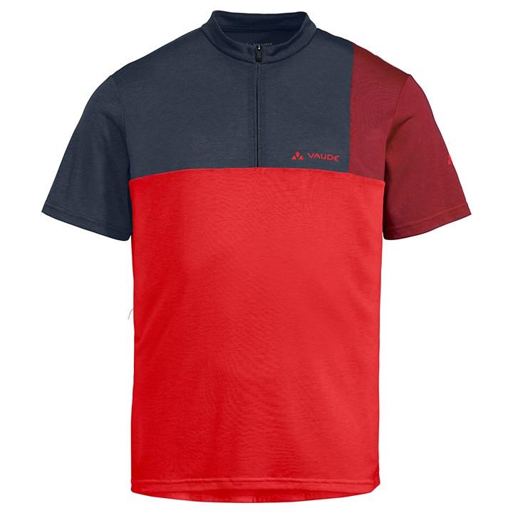 VAUDE Fietsshirt Tremalzo V bikeshirt, voor heren, Maat 2XL, Wielershirt, Wieler