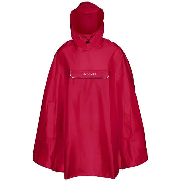 VAUDE regenponcho Valdipino, voor heren, Maat M, Regenjas, Regenkleding