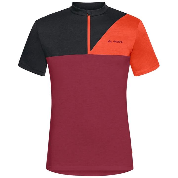 VAUDE Bikeshirt Tremalzo IV bikeshirt, voor heren, Maat L, Fietsshirt, Wielerkle