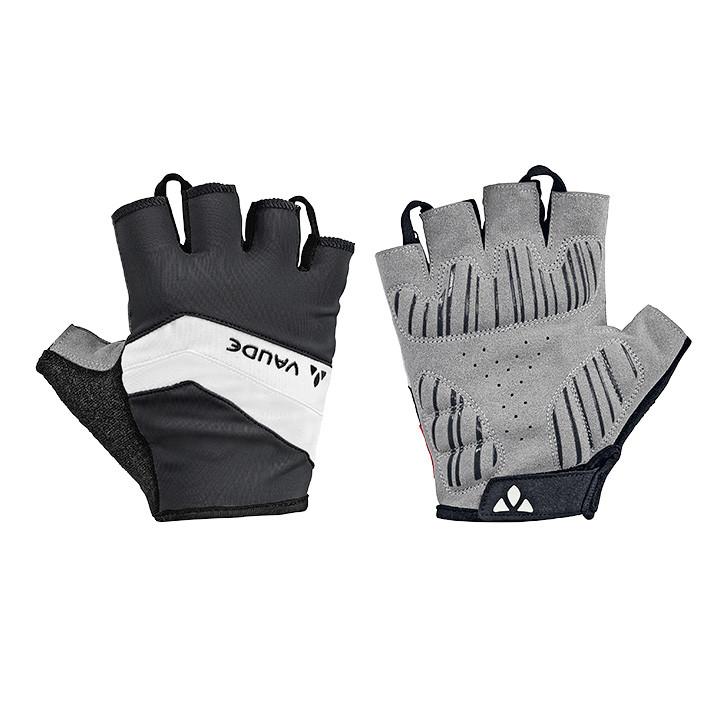 VAUDE fietsActive, zwart-wit handschoenen, voor heren, Maat 7, Fietshandschoenen