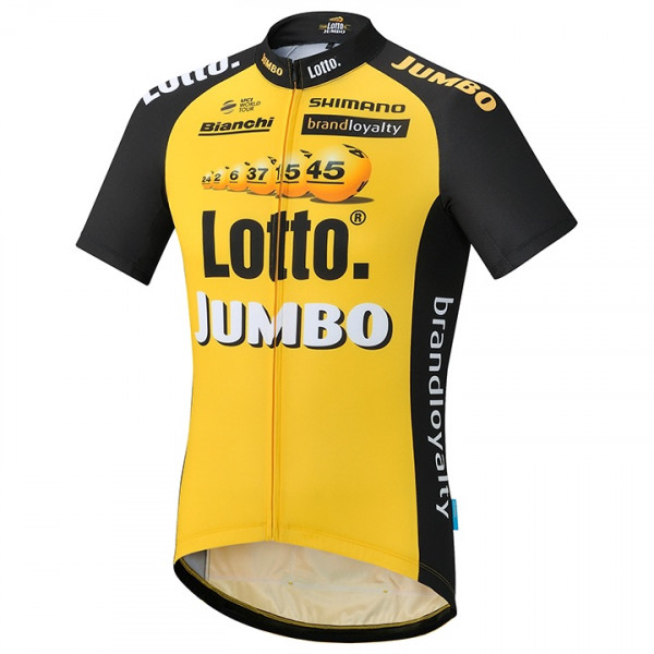 Maillot manches courtes LOTTO NL-JUMBO 2017