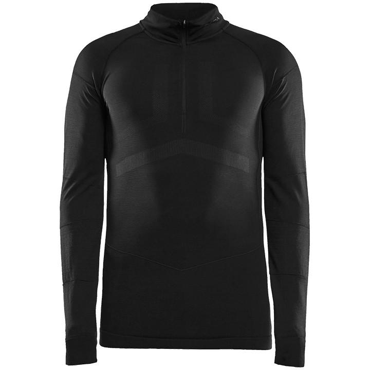 CRAFT fietsmet lange mouwen Active Intensity Zip onderhemd, voor heren, Maat L,